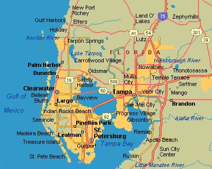 tampa bay florida map – bnhspine.com